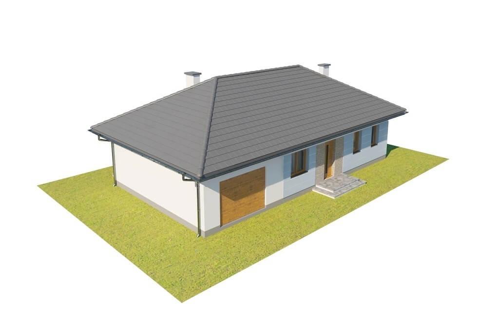 Projekt domu L-6625 - model