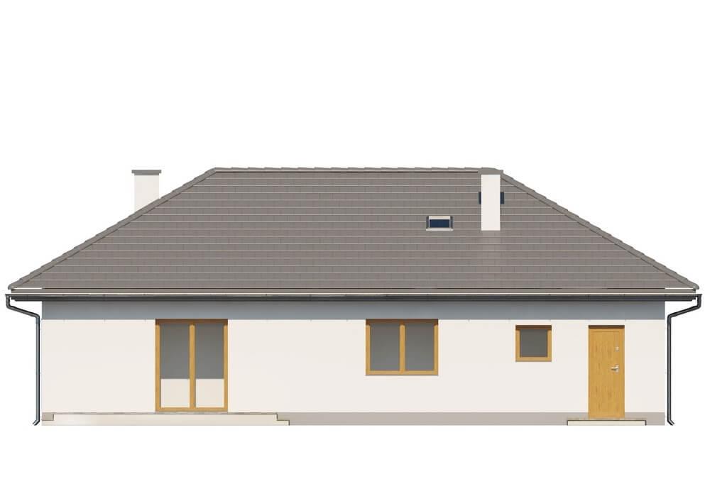 Projekt domu L-6625 - elewacja