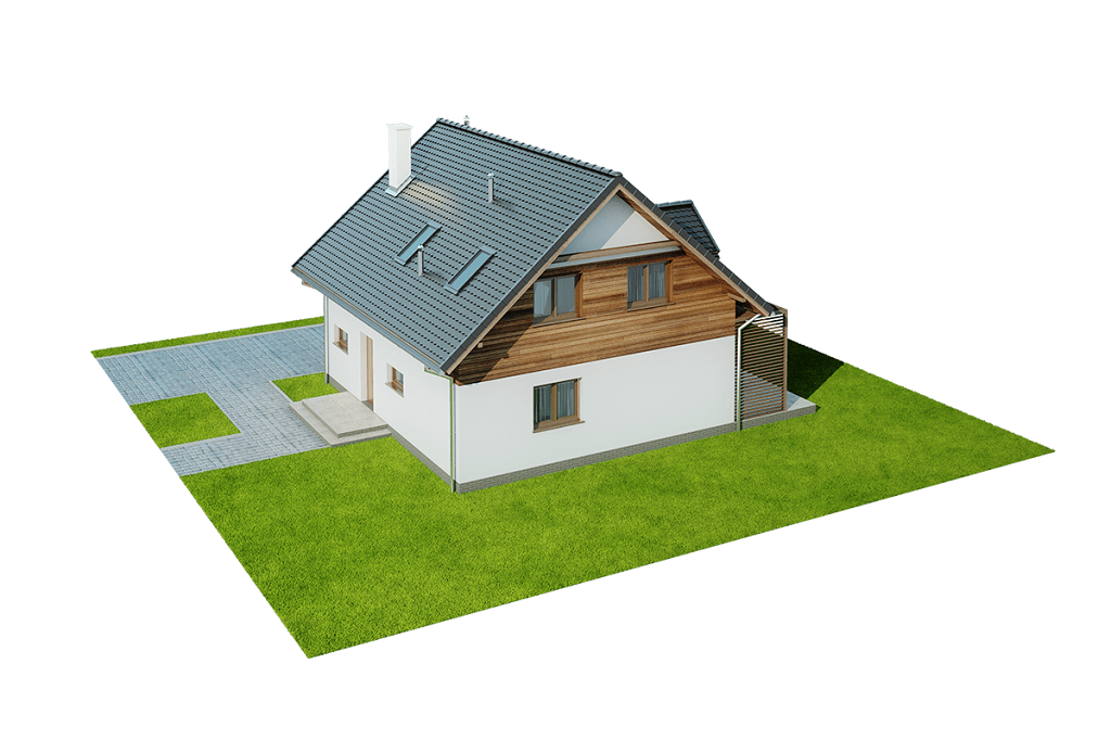 Projekt domu L-6642 - model