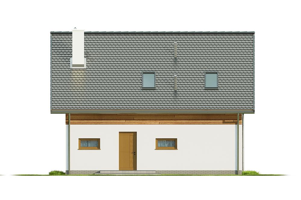 Projekt domu L-6642 - elewacja