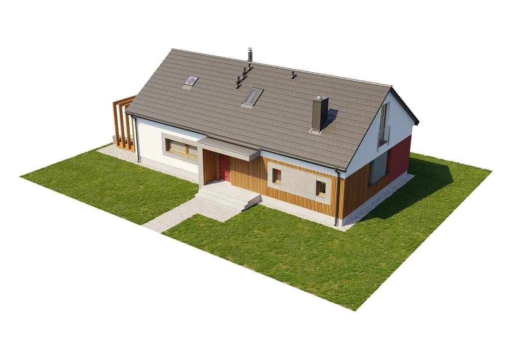 Projekt domu L-6645 - model