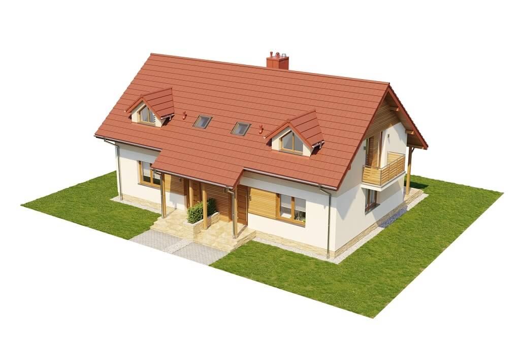 Projekt domu DM-6095B - model