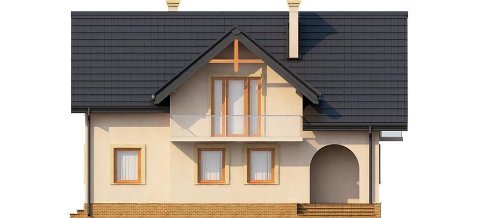 Projekt domu DM-6236 - elewacja