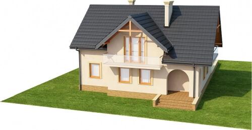 Projekt domu DM-6236 - model