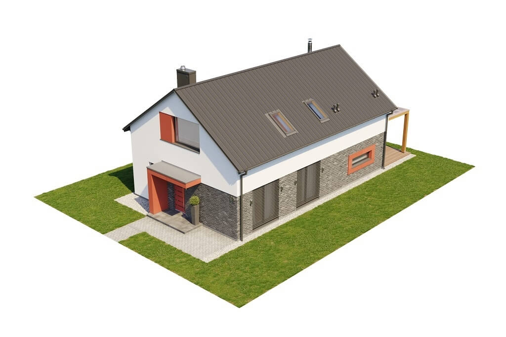 Projekt domu L-6649 - model