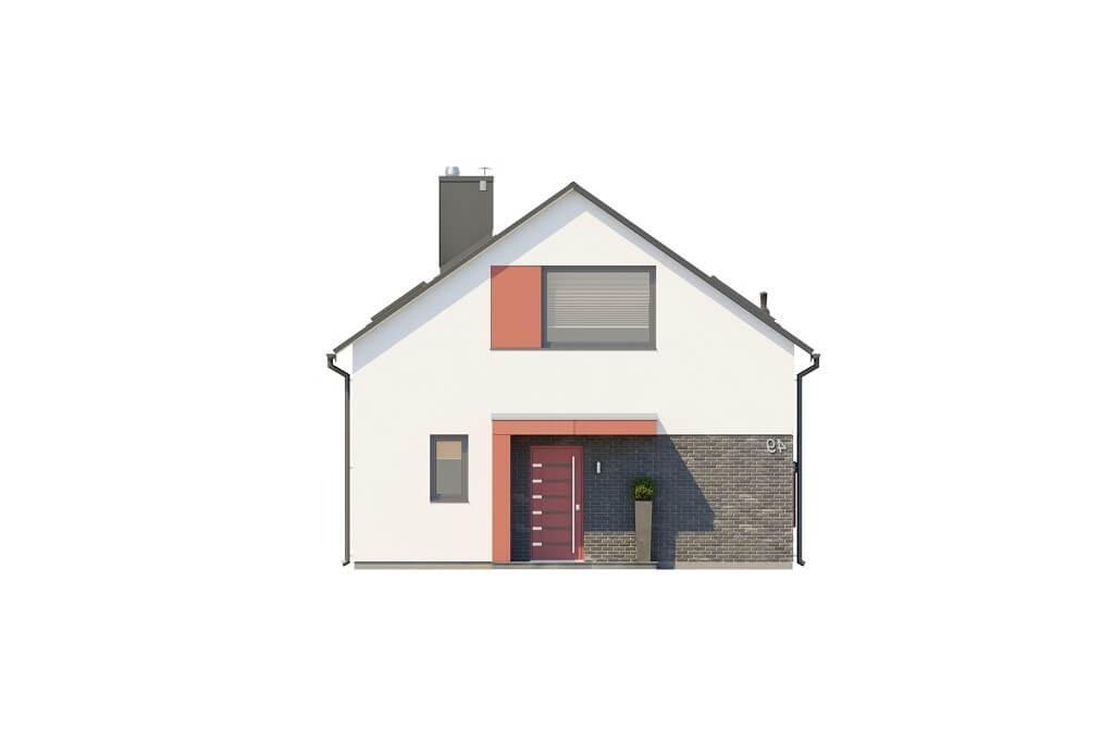 Projekt domu L-6649 - elewacja