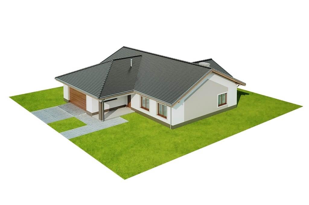 Projekt domu L-6641 - model
