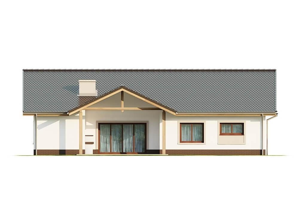 Projekt domu L-6641 - elewacja