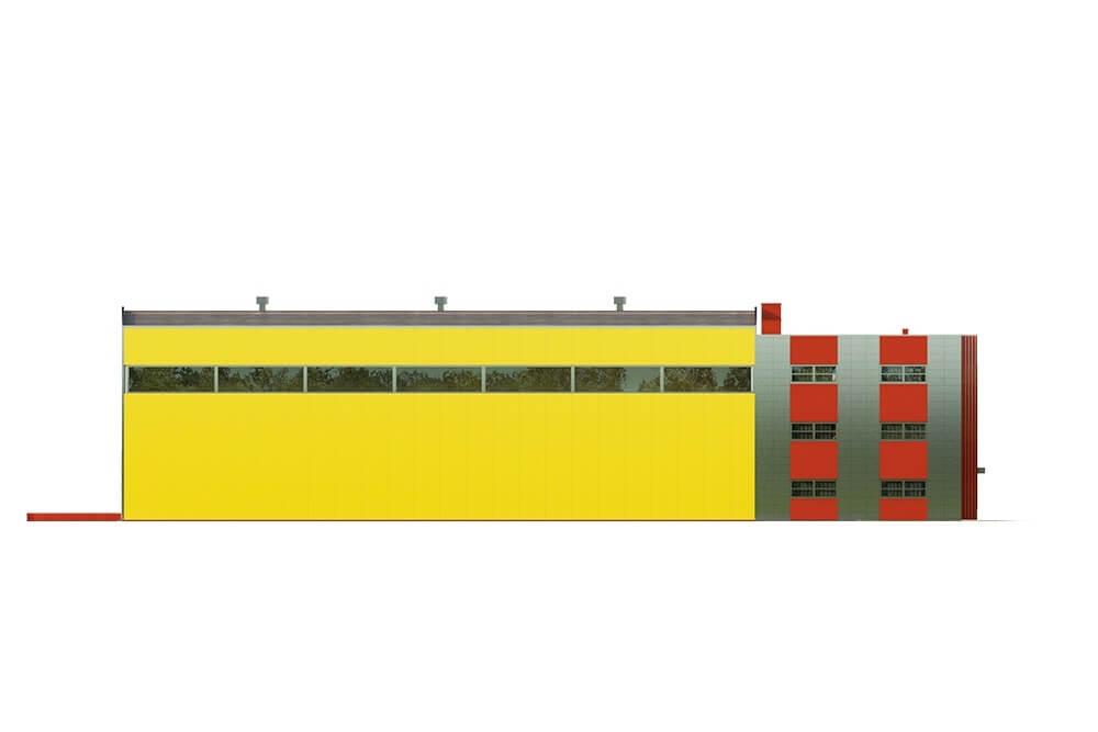 Projekt K-113 - elewacja
