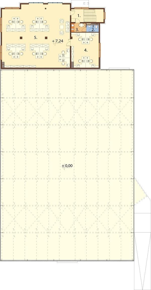 Projekt LK-113 - rzut