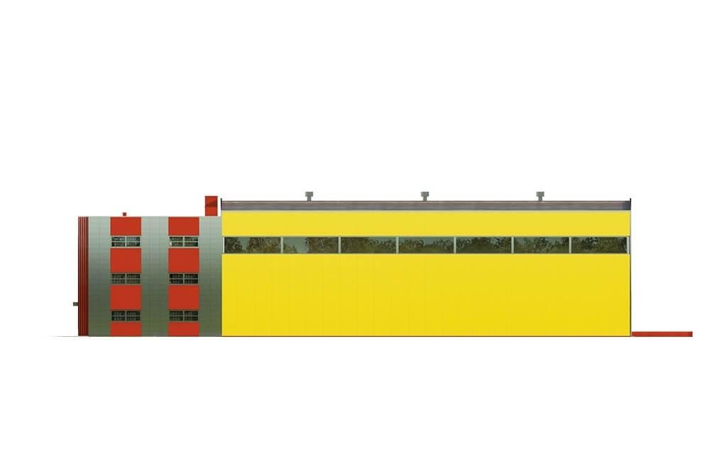 Projekt LK-113 - elewacja