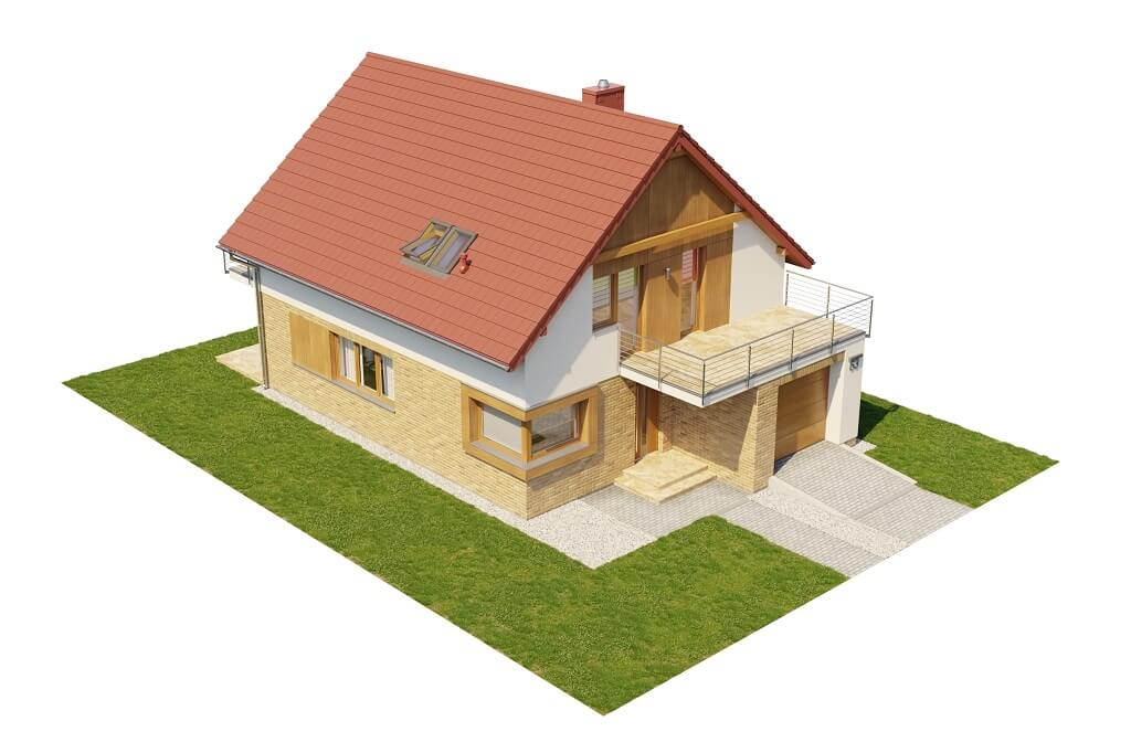 Projekt domu DM-6663 - model