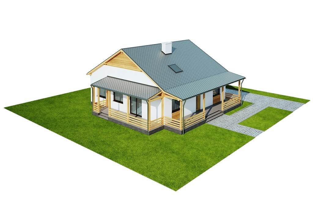 Projekt domu DM-6617 - model