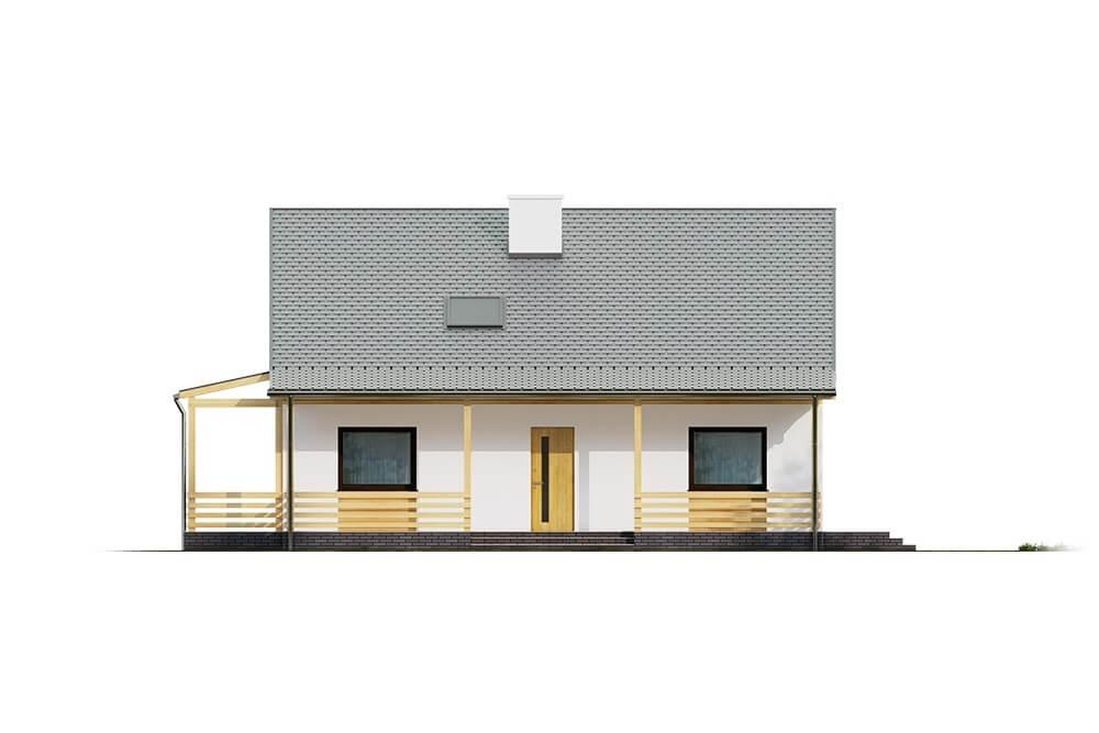 Projekt domu DM-6617 - elewacja