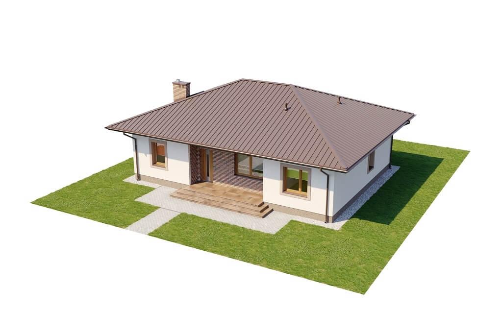 Projekt domu DM-6651 - model