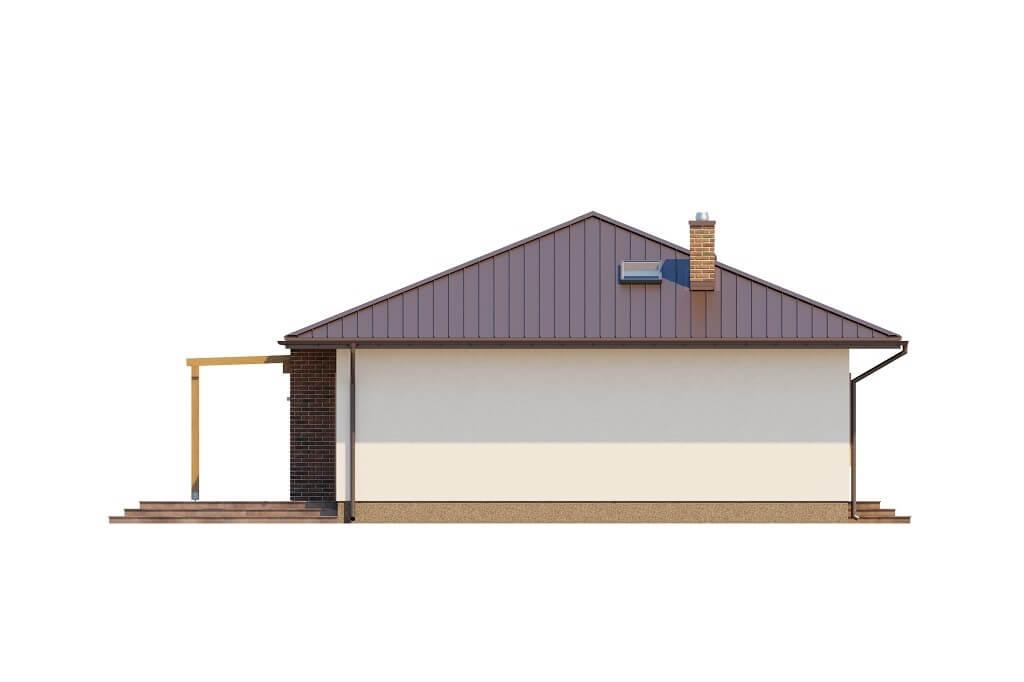 Projekt domu DM-6651 - elewacja
