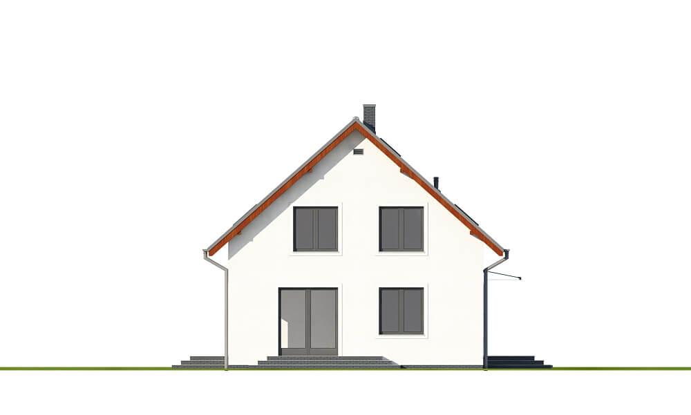 Projekt domu DM-6653 - elewacja