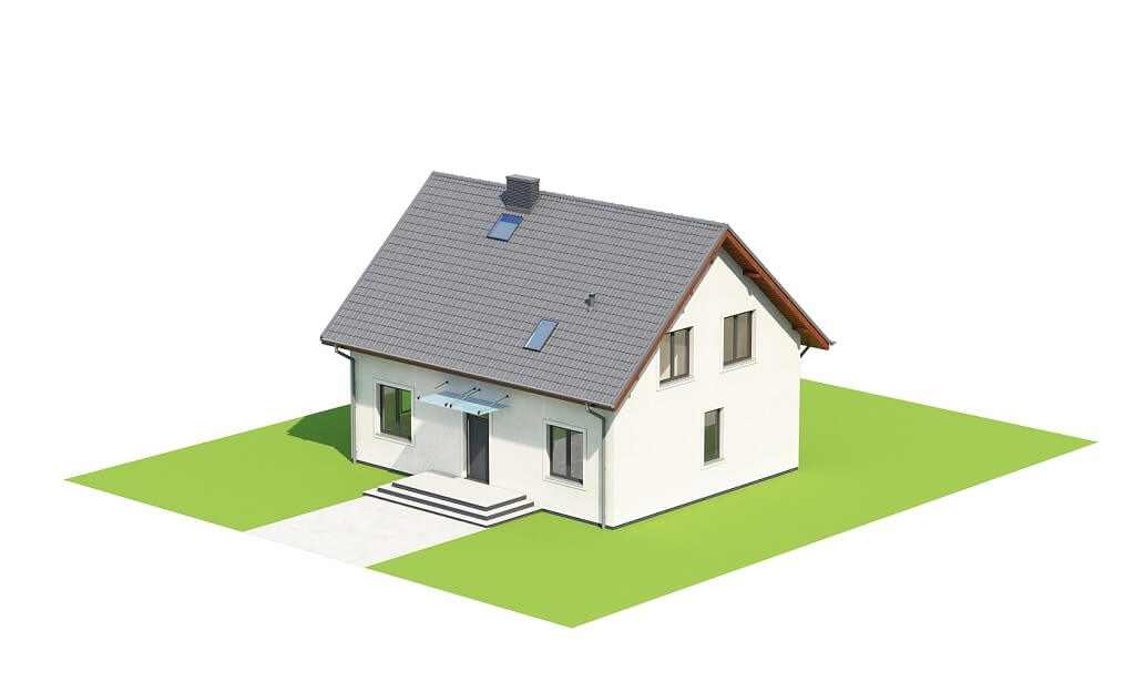 Projekt domu DM-6653 - model