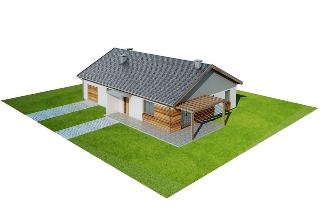 Projekt domu DM-6661 - model