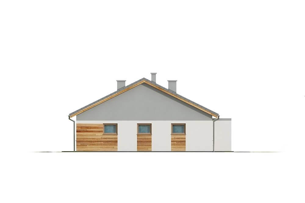 Projekt domu DM-6661 - elewacja