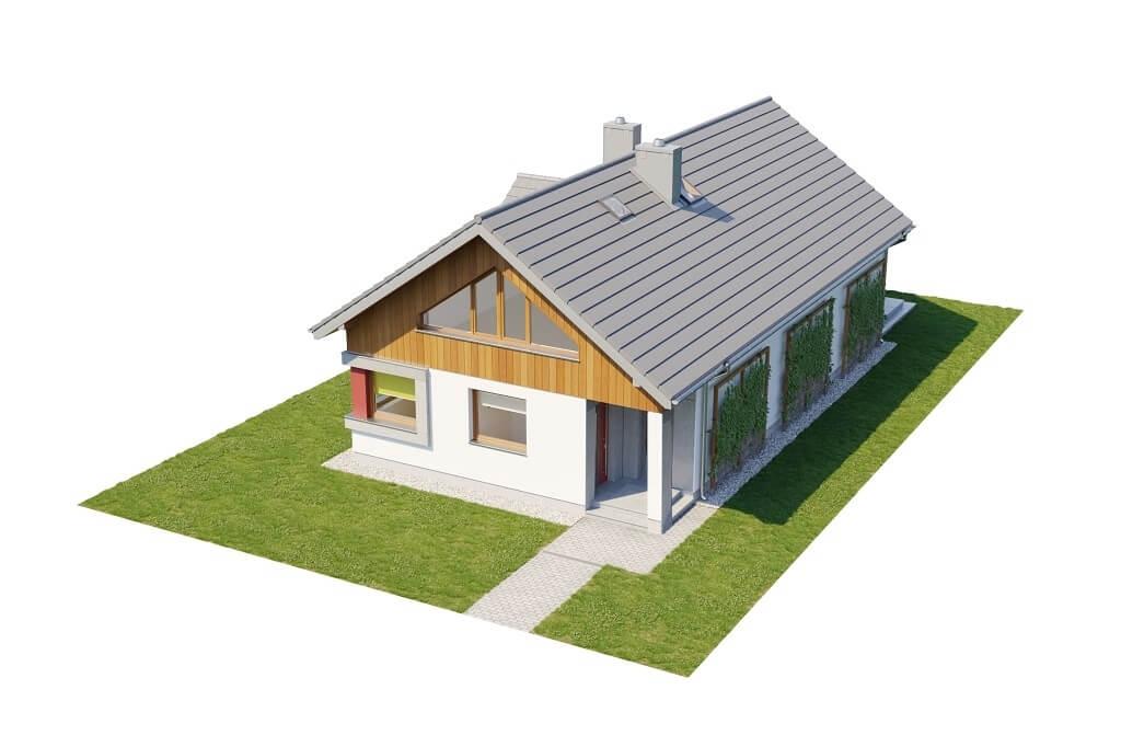 Projekt domu DM-6662 - model