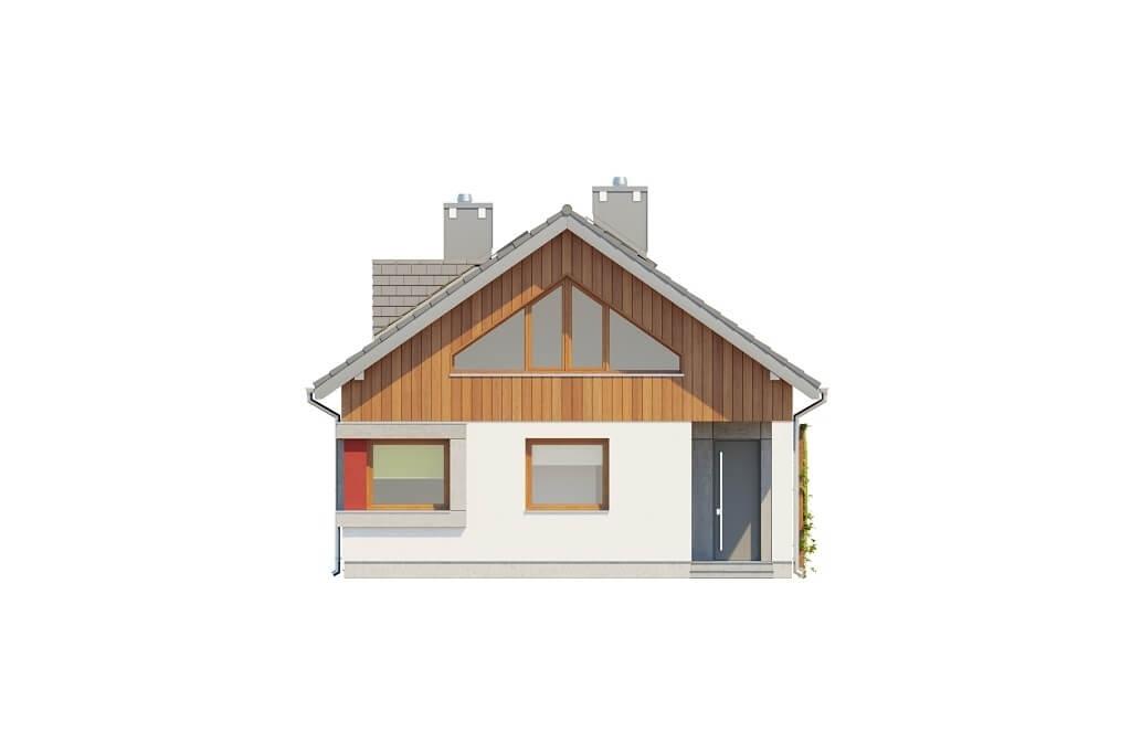 Projekt domu DM-6662 - elewacja