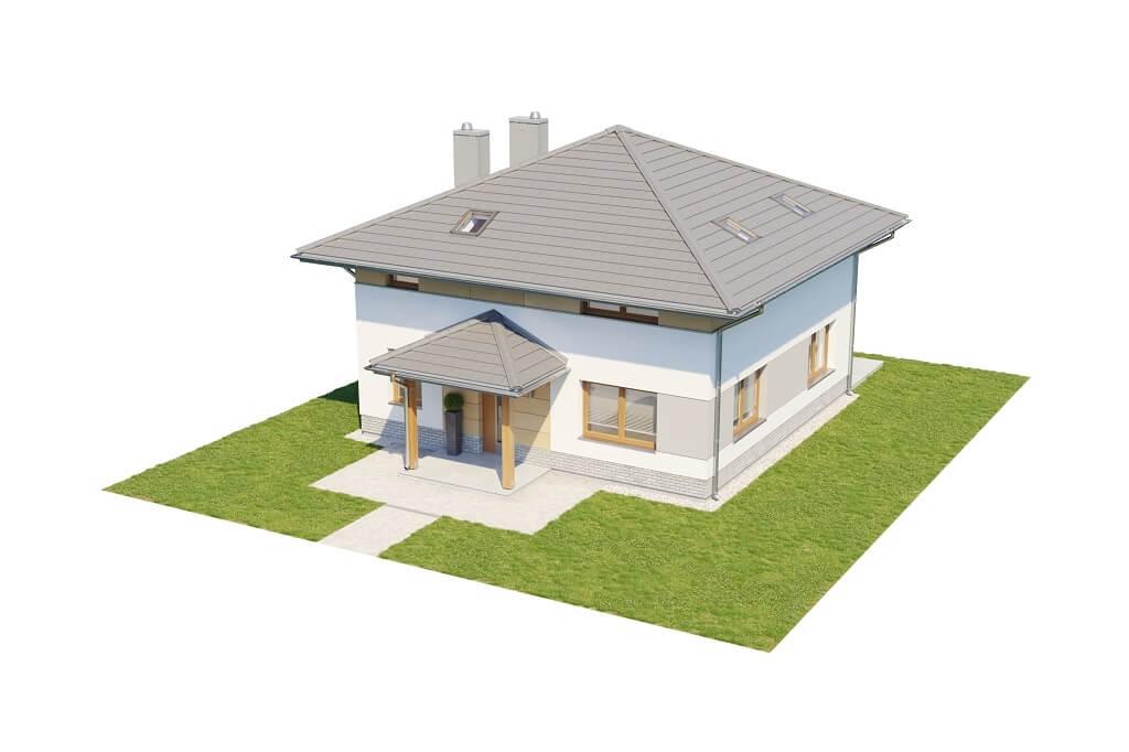 Projekt domu DM-6647 - model