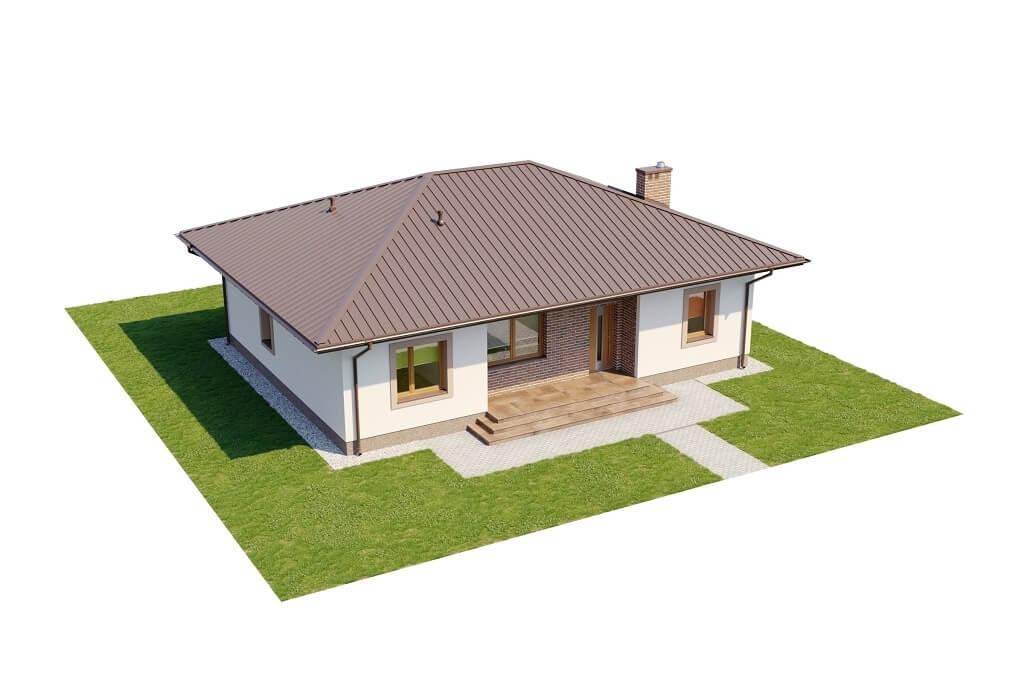 Projekt domu L-6651 - model
