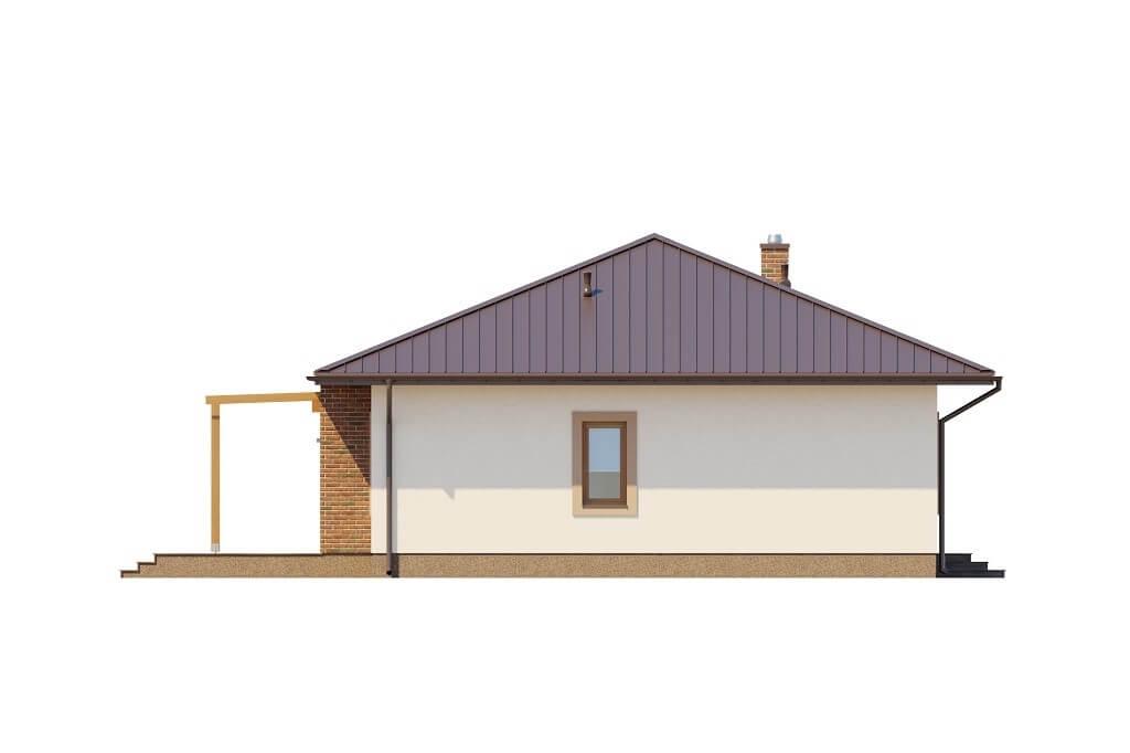 Projekt domu L-6651 - elewacja