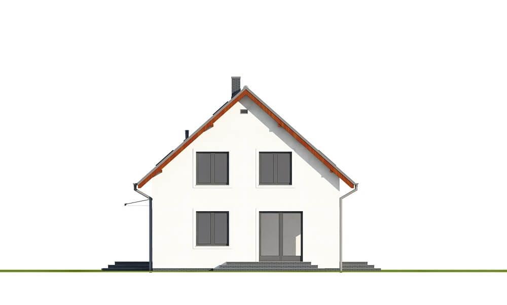 Projekt domu L-6653 - elewacja