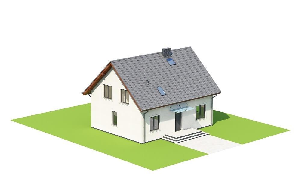 Projekt domu L-6653 - model