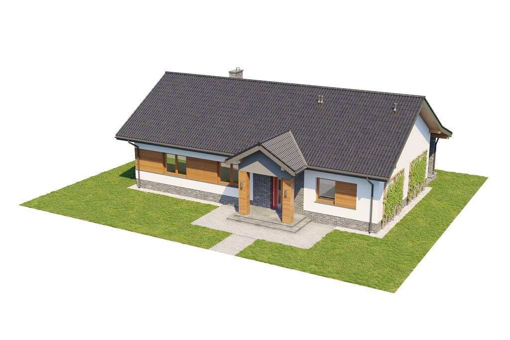 Projekt domu DM-6657 - model