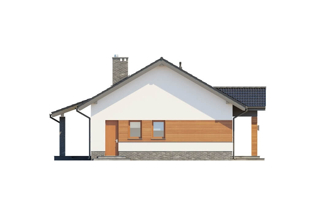 Projekt domu DM-6657 - elewacja