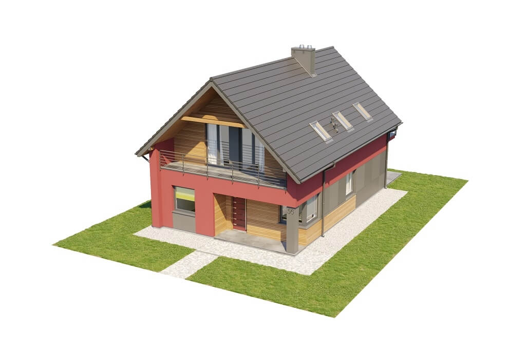 Projekt domu DM-6656 - model