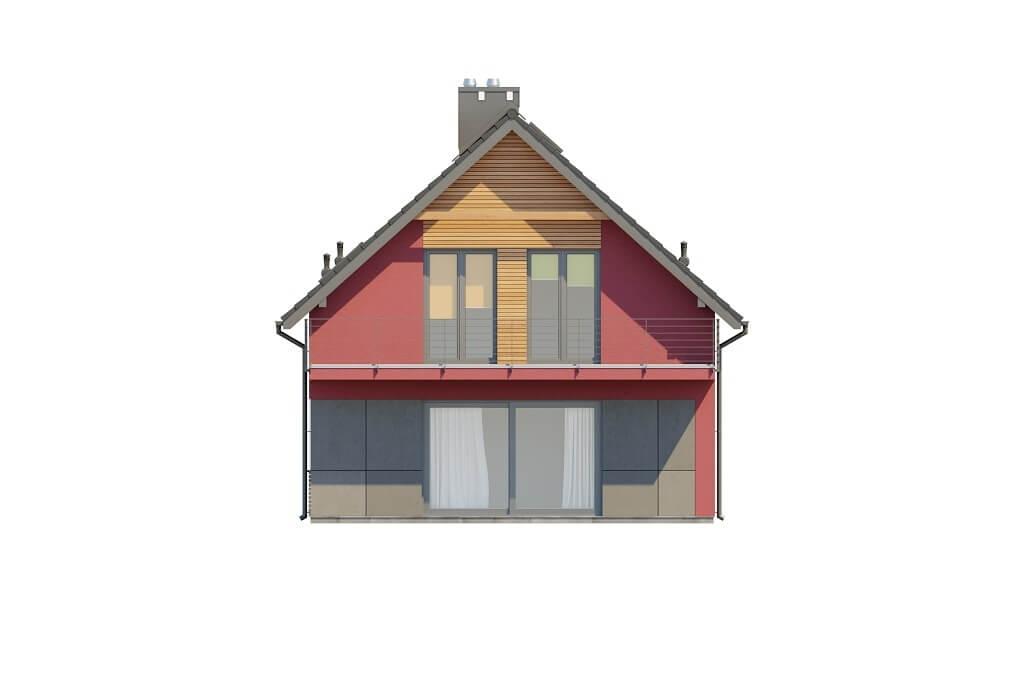 Projekt domu DM-6656 - elewacja