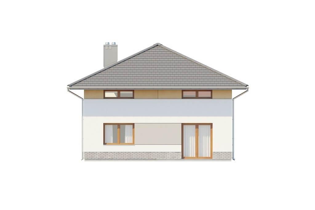 Projekt domu L-6647 - elewacja
