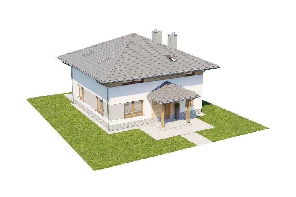 Projekt domu L-6647 - model