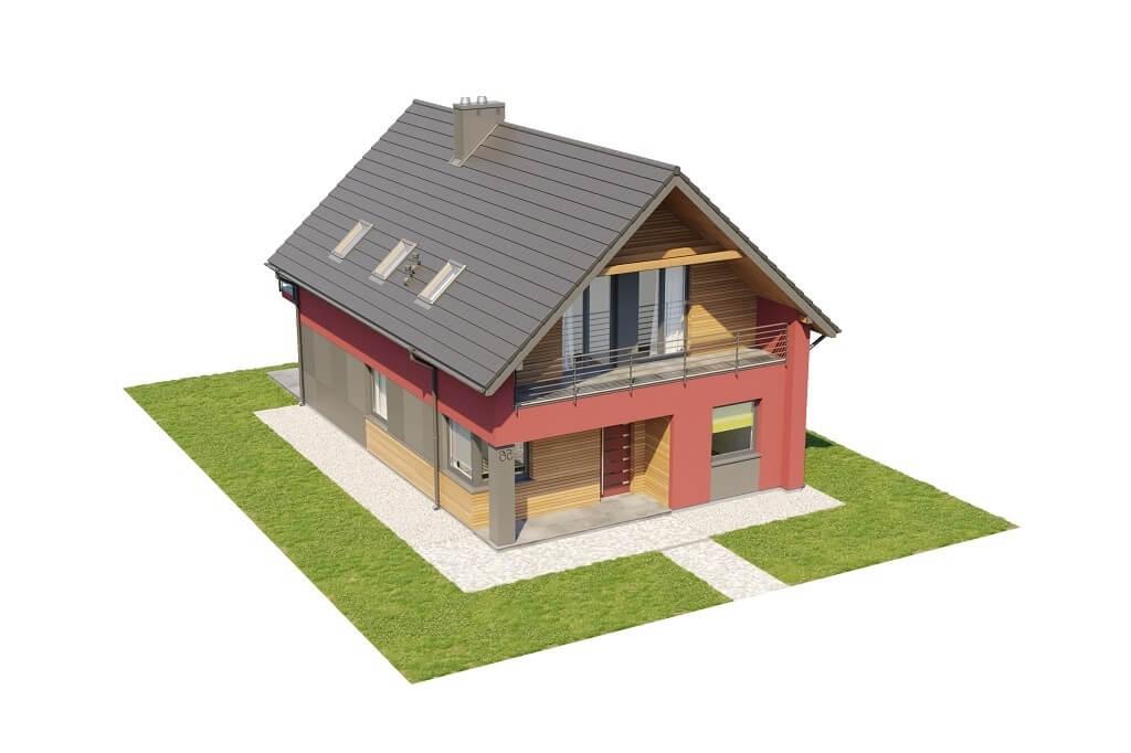 Projekt domu L-6656 - model