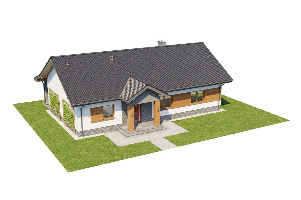 Projekt domu L-6657 - model