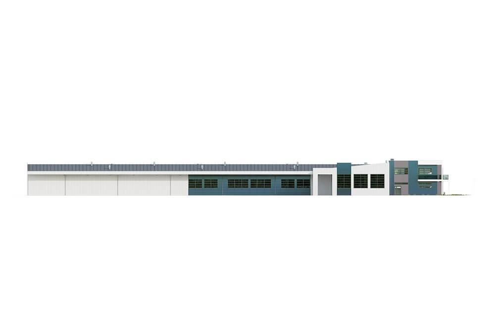 Projekt K-117 - elewacja