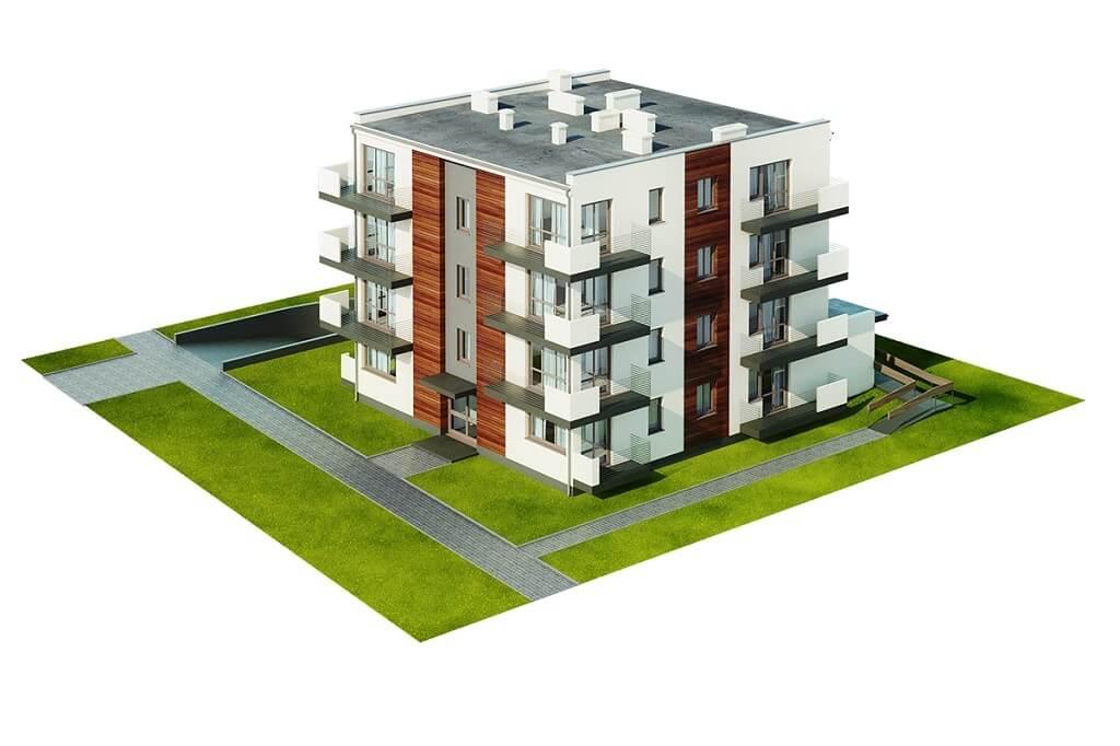 Projekt domu DM-6496 B (DP) - model