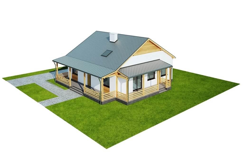 Projekt domu L-6617 - model