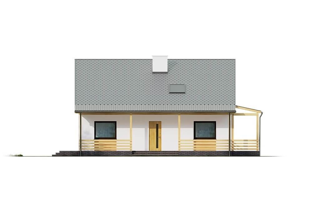 Projekt domu L-6617 - elewacja