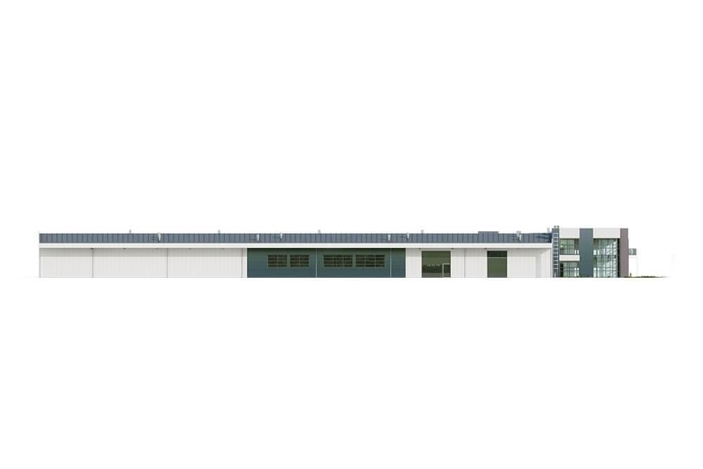 Projekt LK-117 - elewacja