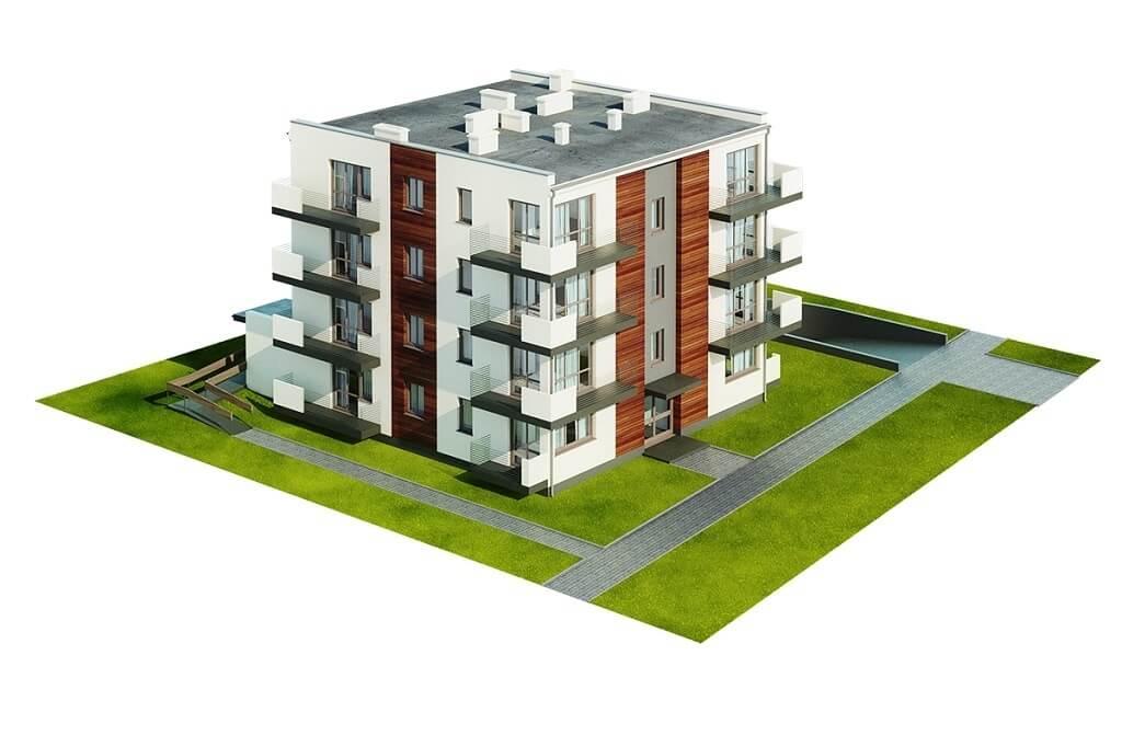 Projekt domu L-6496 B (DP) - model