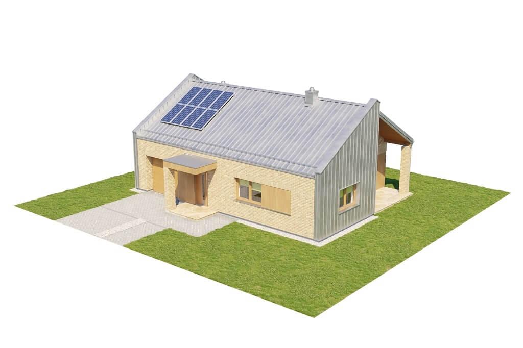 Projekt domu DM-6676 - model