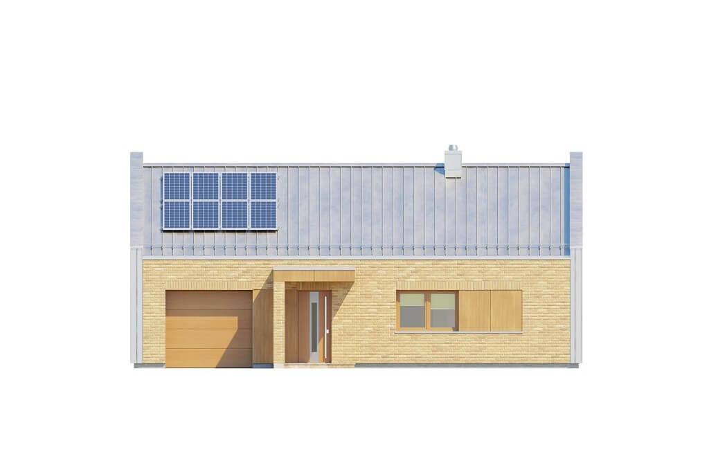 Projekt domu DM-6676 - elewacja