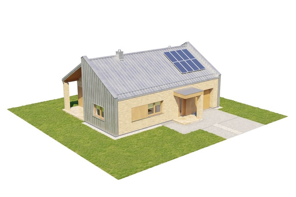 Projekt domu L-6676 - model