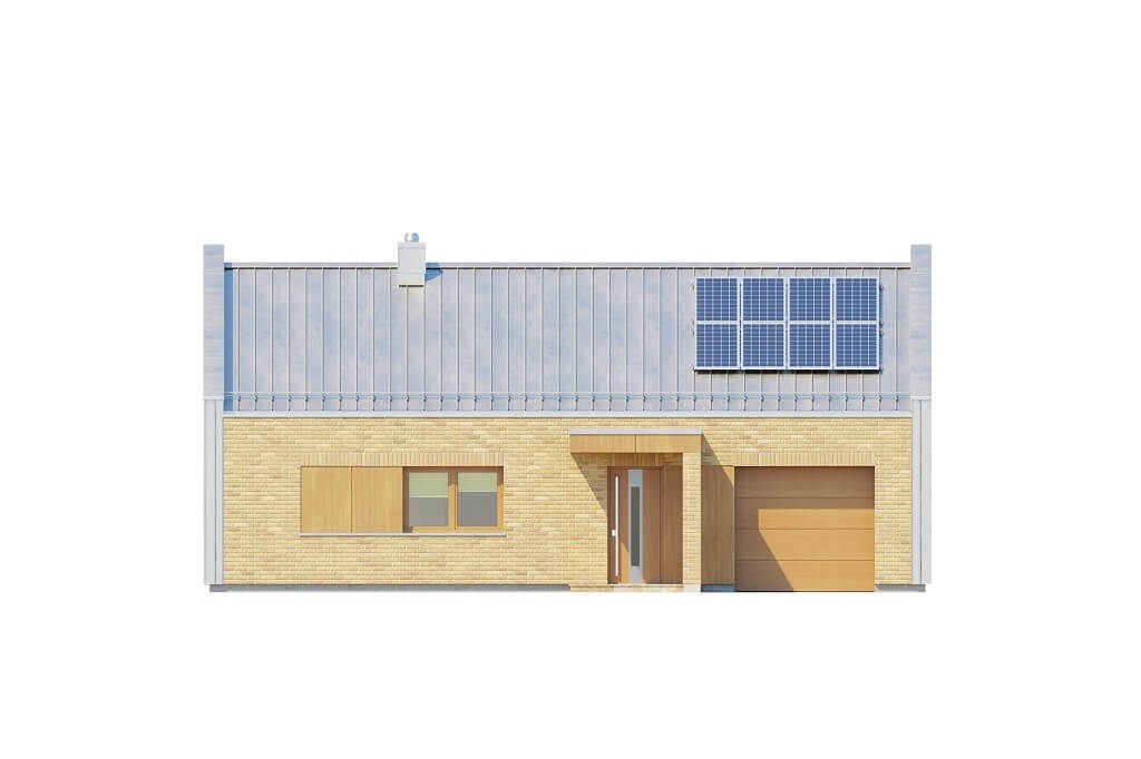 Projekt domu L-6676 - elewacja