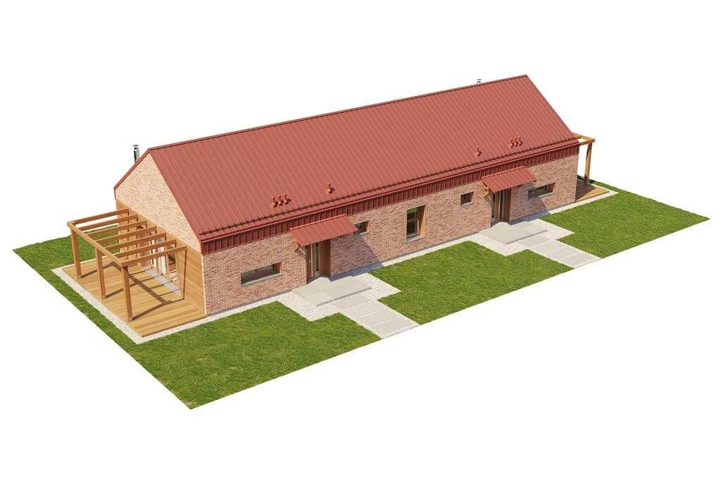 Projekt domu DM-6650 - model